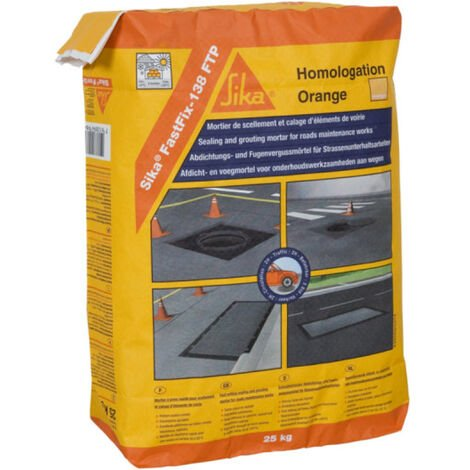 SIKA FastFix 138 FTP - Gris oscuro - 25kg