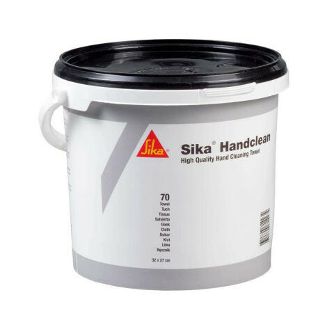 SIKA Handclean Cleansing Wipes - Jar 70 Wipes