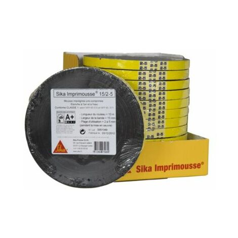 SIKA IMPRIMOUSSE 15/2-5 MM ROULEAUX 10M