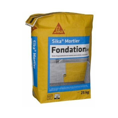 SIKA MORTIER FONDATION SP SIKA SAC 25KG