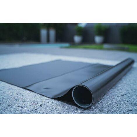 Teichfolie PVC 1mm schwarz in 1m x 6m