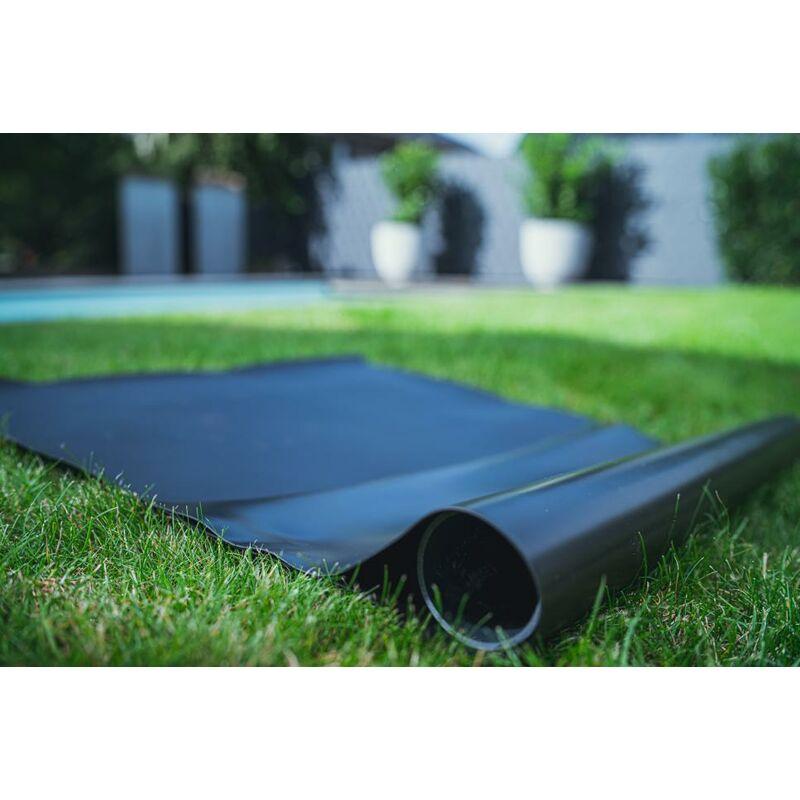Teichfolie PVC 0,5mm schwarz in  9m x  8m