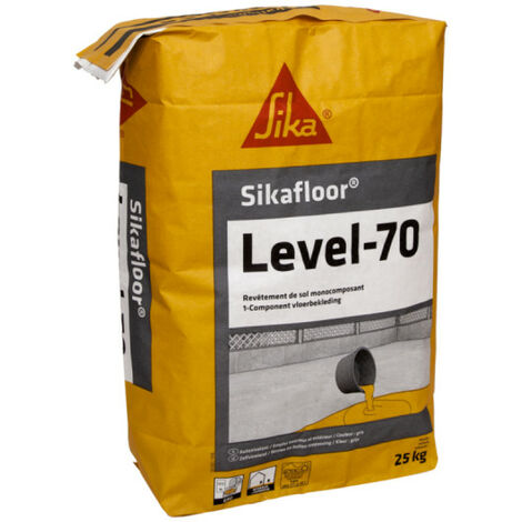 SIKA revestimiento de suelo Sikafloor Level-70 - 25 kg - Gris