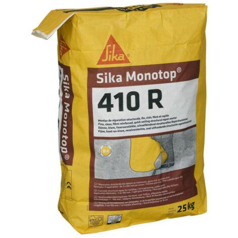 """main image of """"SIKA Sika Monotop 410 R Mortero de reparación rápida - Gris claro - 25kg - Gris clair"""""""