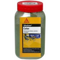 SIKA SikaCem Color Cement, Lime and Plaster Powder - Green - 900g