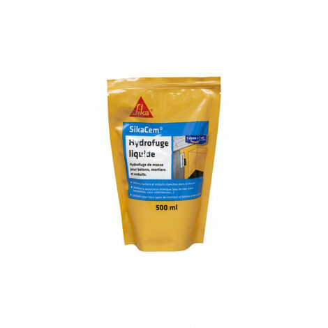 SIKA SikaCem liquid waterproofing mortar for concrete and mortar - 500ml