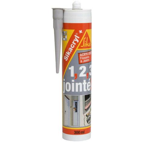 SIKA Sikacryl Plus Acrylic Sealant - White - 300ml