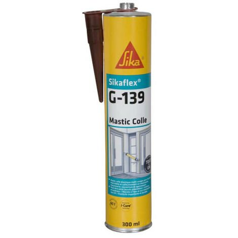 SIKA Sikaflex G 139 SIKA Adhesivo de fraguado rápido - Marrón - 300ml