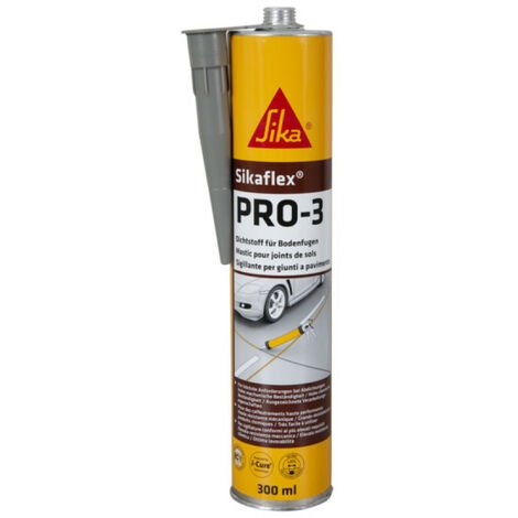 SIKA Sikaflex PRO 3 self-leveling putty - Concrete gray - 300ml