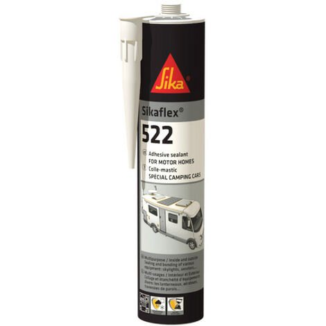 SIKA Sikaflex Putty Glue 522 Caravan - Blanco - 300ml - Blanc