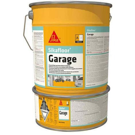 SIKA Sikafloor Garage Coloured Epoxy Paint - Grey - 6kg