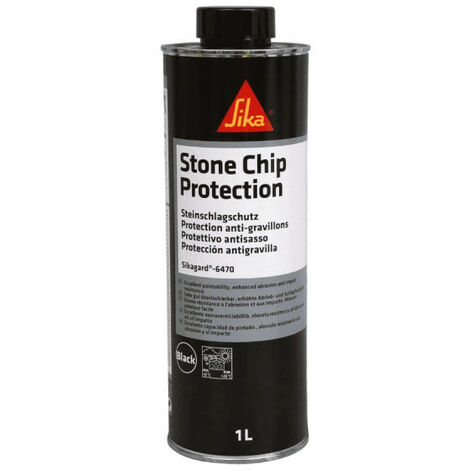 SIKA Sikagard 6470 anti-gravel coating - Black - 1L