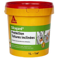 SIKA Sikagard Sloped Roof Protector - White - 1L