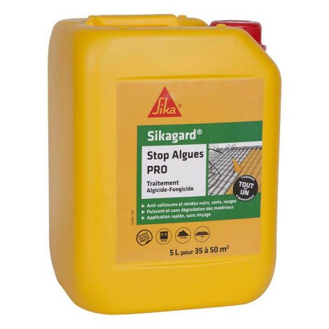 SIKA Sikagard Stop algae algaecide and fungicide treatment PRO - 5L