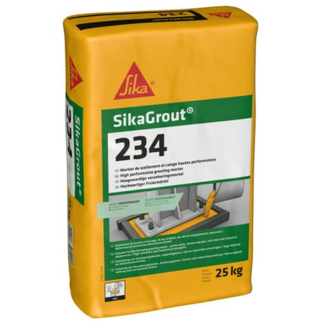 SIKA SikaGrout 234 Relleno - 25 kg - Gris