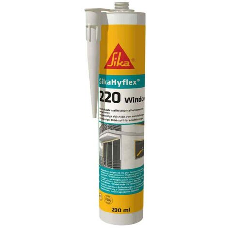 SIKA SikaHyflex 220 Window High Performance Putty - White - 290ml