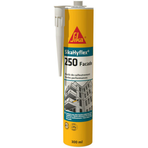 SIKA SikaHyflex 250 High Performance Sealant Facade - White - 300ml