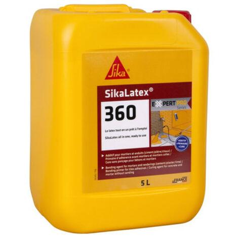 SIKA SikaLatex 360 - Resina adhesiva de 5L - Blanc