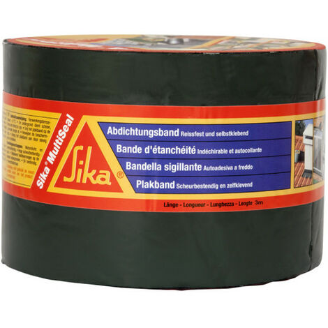 Sika SikaMultiSeal bituminöse Abdichtung Klebeband - Alu - 150mm x 10m