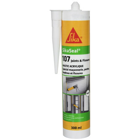 SIKA Sikaseal Acrylic Sealant 107 Joint and Crack - Gray - 300ml