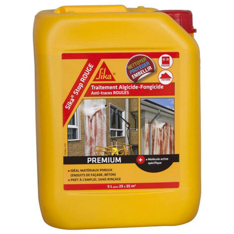 SIKA SikaStop algaecide and fungicide treatment RED - 20L
