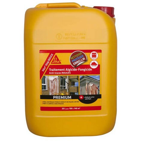SIKA SikaStop RED algicide and fungicide treatment - 20L
