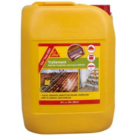 SIKA SikaStop VERT algaecide and fungicide treatment - 20L