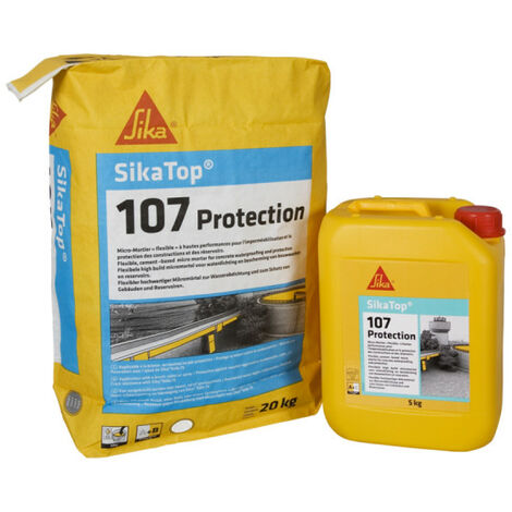 SIKA Sikatop 107 Protection micro-mortar - Gray - 25kg