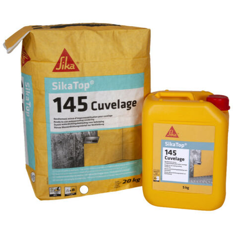 SIKA Sikatop 145 Revestimiento Impermeabilizante - Gris - 25kg