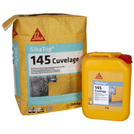 SIKA Sikatop 145 Revestimiento Impermeabilizante - Gris - 25kg