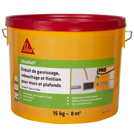SIKA SikaWall all-in-one paste filling plaster - 15kg