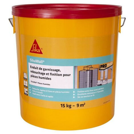 SIKA SikaWall Filler Filling and Finishing for Wet Rooms - 15kg