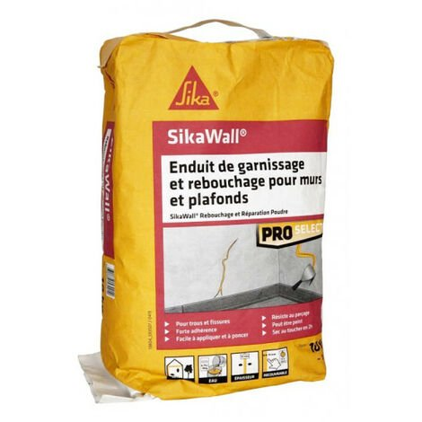 SIKA SikaWall Filling and Filling Plaster For walls and ceilings - 10Kg