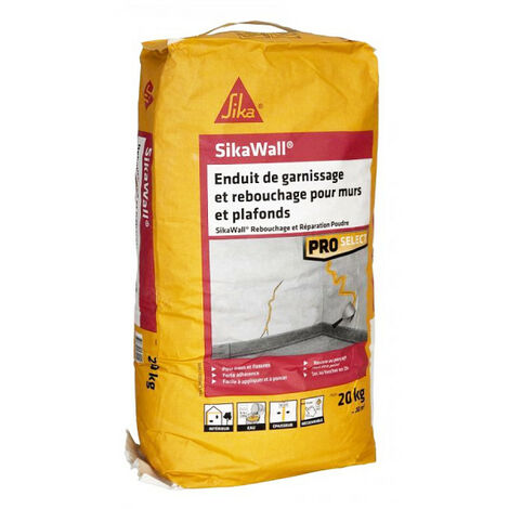 SIKA SikaWall Filling and Filling Plaster For walls and ceilings - 20Kg