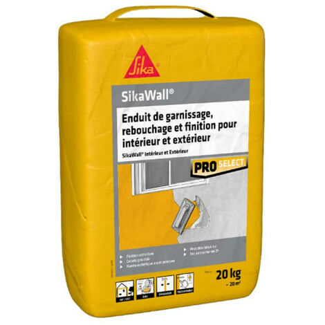 SIKA SikaWall Filling and Filling Plaster Interior and Exterior - 20Kg