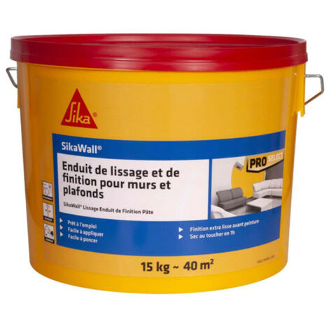 SIKA SikaWall smoothing and finishing paste plaster - 15kg