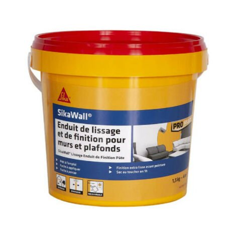 SIKA SikaWall smoothing and finishing paste plaster - 1.5kg