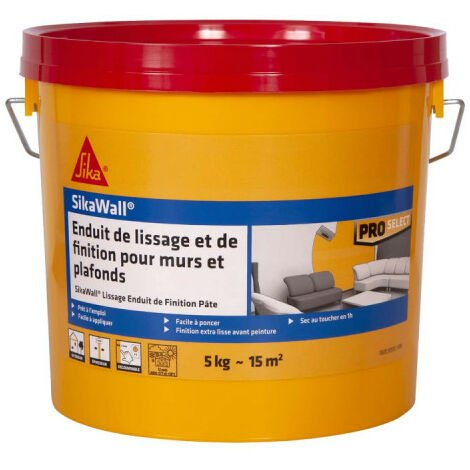 SIKA SikaWall smoothing and finishing paste plaster - 5kg