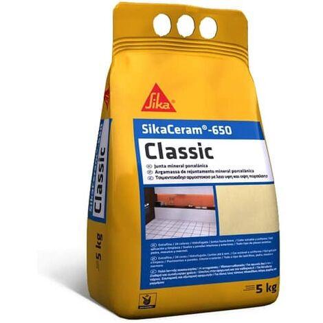 SikaCeram Lechada de cemento relleno juntas 0 a 4 mm Blanco