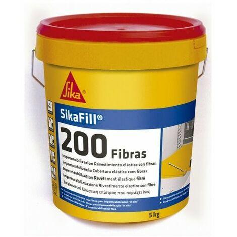 "main image of ""Sikafill-200 Fibra Gris bote 5 kg"""