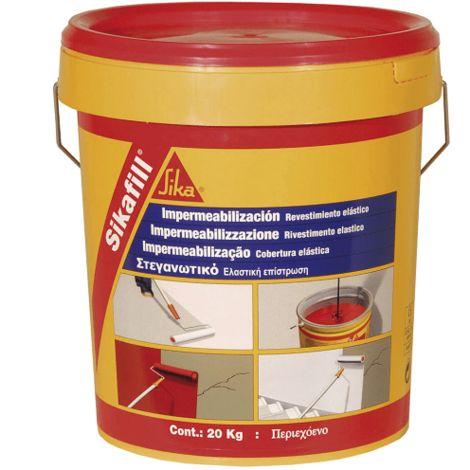 """main image of """"Impermeabilizante elástico Sikafill-200 Fibras"""""""