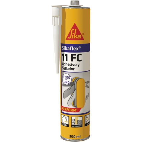 Sikaflex-11FC+ Cartucho 300 Gris Cemento