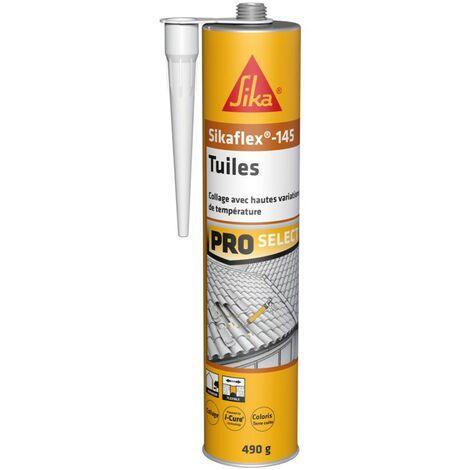 Sikaflex 145 Tuiles Colle polyuréthane 380g | Couleur: Terre cuite