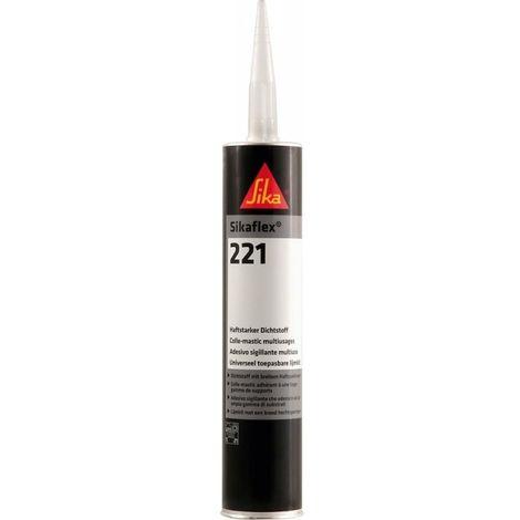 Sikaflex-221 300ml noir (MDI)Silka (Par 12)