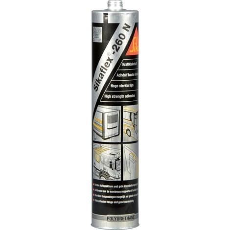 Sikaflex 260 151170 part cartouche n, 300 ml (noir) (Par 12)