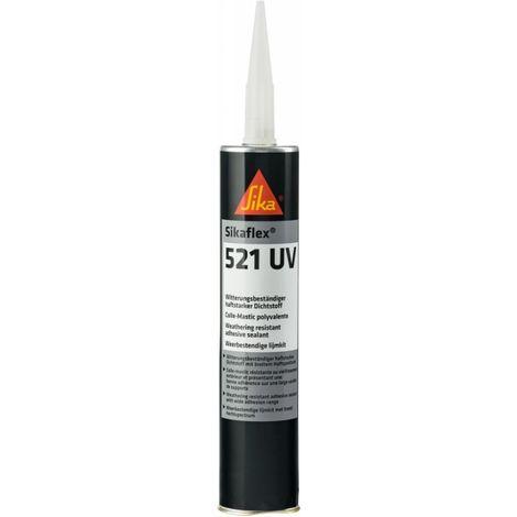Sikaflex-521 UV gris clair 300ml cartouche (Par 12)