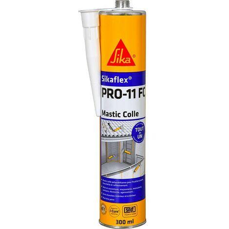 Sikaflex PRO-11 FC mastic-colle TOUT en UN fixation, étanchéité et calfeutrement 300 ml