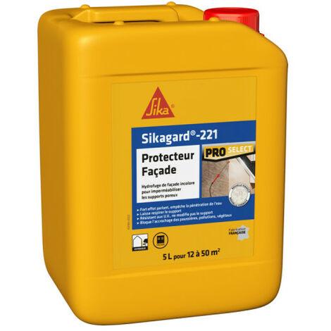 Sikagard Protection imperméabilisant hydrofuge façade Incolore