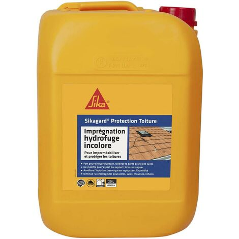 Sikagard Protection imperméabilisant  hydrofuge toiture Incolore