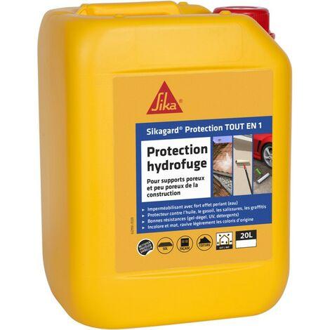 Sikagard Protection Tout en 1 imperméabilisant hydrofuge toiture sol et façade